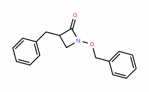 3-benzyl-1-(benzyloxy)azetiDin-2-one