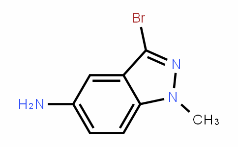 3-broMo-1-Methyl-1H-inDazol-5-aMine