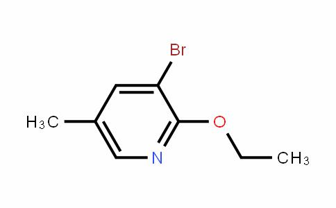 3-Bromo-2-ethoxy-5-methyl-pyriDine