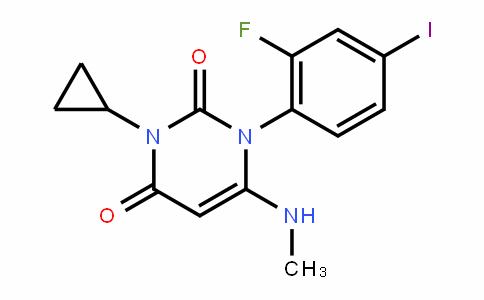 3-cyclopropyl-1-(2-fluoro-4-ioDophenyl)-6-(methylamino)pyrimiDine-2,4(1H,3H)-Dione