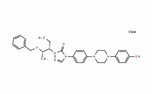 3H-1,2,4-Triazol-3-one, 2-[(1S,2S)-1-ethyl-2-(phenylmethoxy)propyl]-2,4-DihyDro-4-[4-[4-(4-hyDroxyphenyl)-1-piperazinyl]phenyl]-