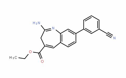 3H-1-Benzazepine-4-carboxylic acid, 2-aMino-8-(3-cyanophenyl)-, ethyl ester