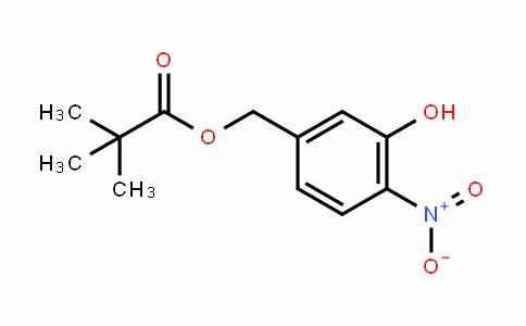 3-hyDroxy-4-nitrobenzyl pivalate