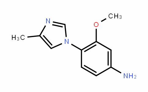 3-甲氧基-4-(4-甲基-1H-咪唑-1-基)苯胺