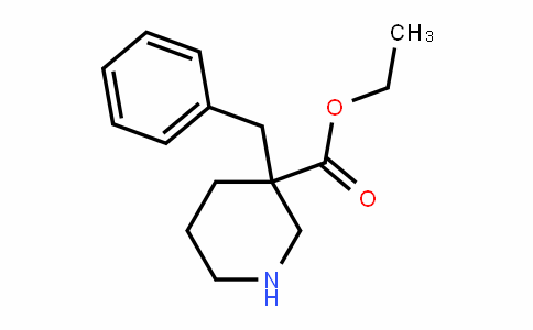 3-PiperiDinecarboxylic acid, 3-(phenylmethyl)-, ethyl ester