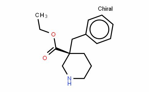 3-PiperiDinecarboxylic acid, 3-(phenylmethyl)-, ethyl ester,(R)-