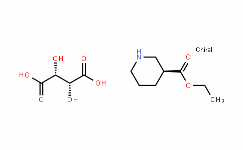 3-PiperiDinecarboxylic acid, ethyl ester, (3S)-, (2R,3R)-2,3-DihyDroxybutaneDioate (1:1)