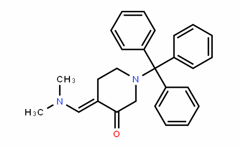 3-PiperiDinone, 4-[(DiMethylaMino)Methylene]-1-(triphenylMethyl)-