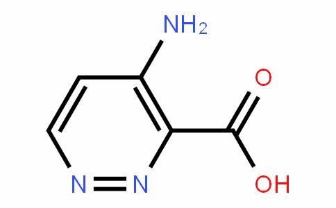 4-氨基哒嗪-3-羧酸