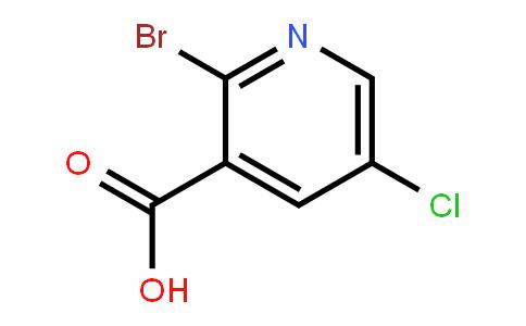 3-PyriDinecarboxylic acid, 2-broMo-5-chloro-