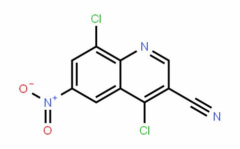 3-Quinolinecarbonitrile, 4,8-Dichloro-6-nitro-