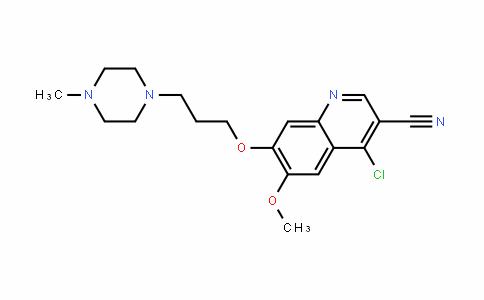 3-Quinolinecarbonitrile, 4-chloro-6-Methoxy-7-[3-(4-Methyl-1-piperazinyl)propoxy]-