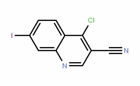 3-Quinolinecarbonitrile, 4-chloro-7-ioDo-