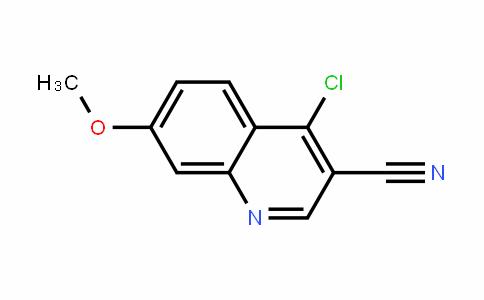 3-Quinolinecarbonitrile, 4-chloro-7-methoxy-