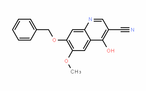 3-Quinolinecarbonitrile, 4-hyDroxy-6-methoxy-7-(phenylmethoxy)-