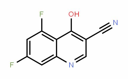 3-Quinolinecarbonitrile, 5,7-Difluoro-4-hyDroxy-