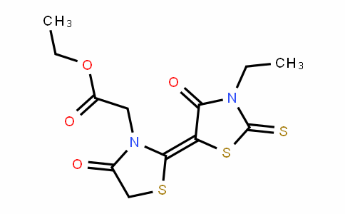 3-ThiazoliDineacetic acid, 2-(3-ethyl-4-oxo-2-thioxo-5-thiazoliDinyliDene)-4-oxo-, ethyl ester