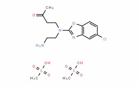4-((2-aminoethyl)(5-chlorobenzo[D]oxazol-2-yl)amino)butan-2-one (Dimethanesulfonate)