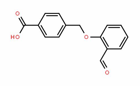 4-((2-formylphenoxy)methyl)benzoic acid