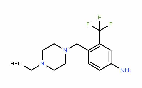 4-((4-ethylpiperazin-1-yl)methyl)-3-(trifluoromethyl)aniline