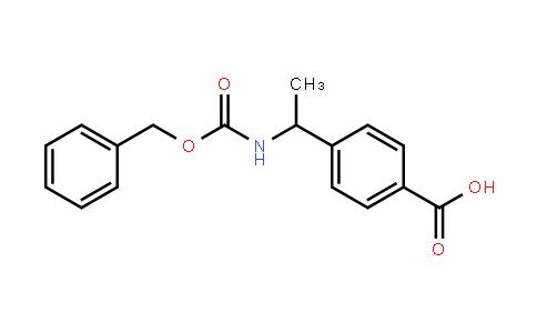 4-(1-(((benzyloxy)carbonyl)amino)ethyl)benzoic acid