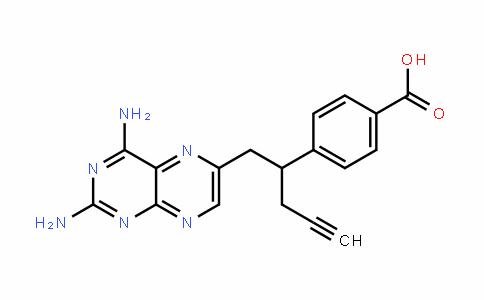 4-(1-(2,4-DiaminopteriDin-6-yl)pent-4-yn-2-yl)benzoic acid