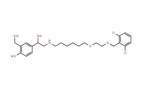 4-(2-((6-(2-((2,6-Dichlorobenzyl)oxy)ethoxy)hexyl)aMino)-1-hyDroxyethyl)-2-(hyDroxyMethyl)phenol