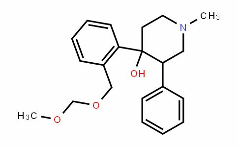 4-(2-((methoxymethoxy)methyl)phenyl)-1-methyl-3-phenylpiperiDin-4-ol