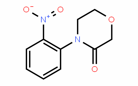 4-(2-nitrophenyl)morpholin-3-one