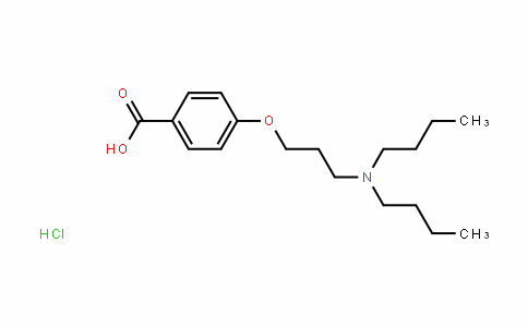 4-[3-(二丁基氨基)丙氧基]苯甲酸盐酸盐