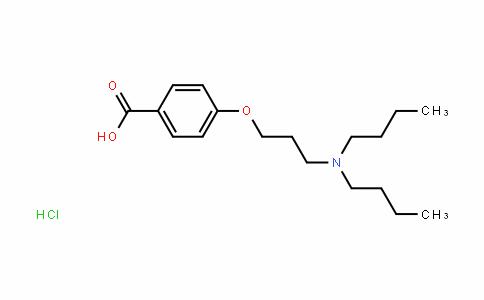 4-(3-(Dibutylamino)propoxy)benzoic acid (HyDrochloriDe)