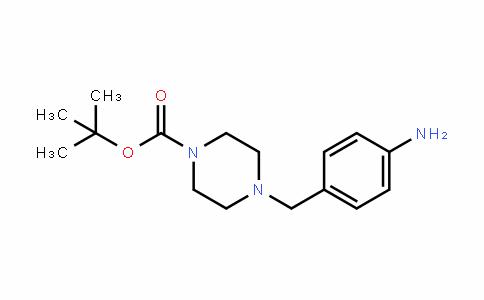4-(4-AMinobenzyl)piperazine-1-carboxylic acid Tert-butyl ester