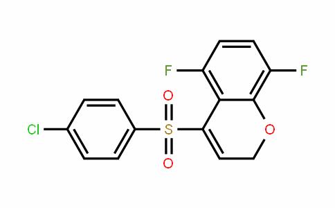 4-(4-chlorophenylsulfonyl)-5,8-Difluoro-2H-chromene