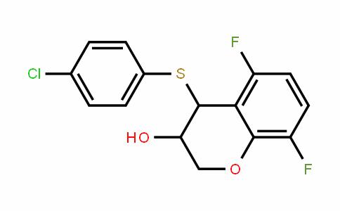 4-(4-chlorophenylthio)-5,8-Difluorochroman-3-ol