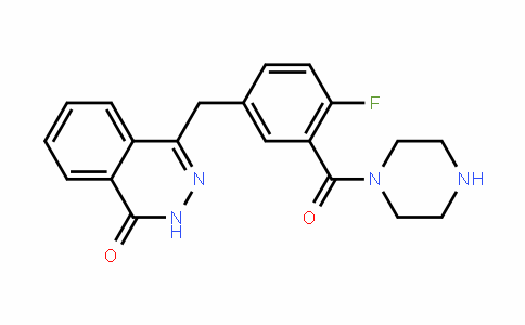 1-[5-[(3,4-二氢-4-氧代-1-酞嗪基)甲基]-2-氟苯甲酰基]哌嗪