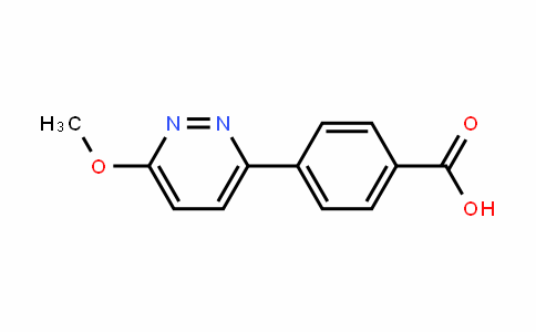 4-(6-METHOXYPYRIDAZIN-3-YL)BENZOIC acid