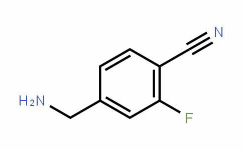 4-(aminomethyl)-2-fluorobenzonitrile