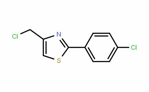 4-(Chloromethyl)-2-(4-chlorophenyl)-1,3-thiazole