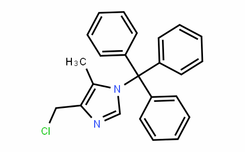 4-(chloromethyl)-5-methyl-1-trityl-1H-imiDazole