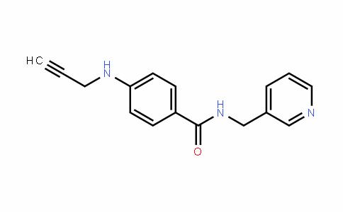 4-(prop-2-ynylamino)-N-(pyriDin-3-ylmethyl)benzamiDe