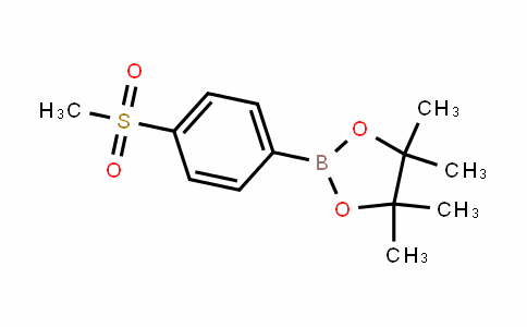 4,4,5,5-tetramethyl-2-(4-(methylsulfonyl)phenyl)-1,3,2-Dioxaborolane