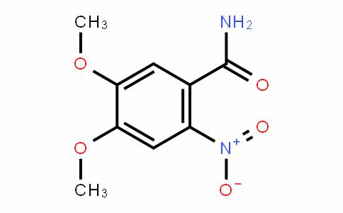 4,5-二甲氧基-2-硝基苯甲酰胺