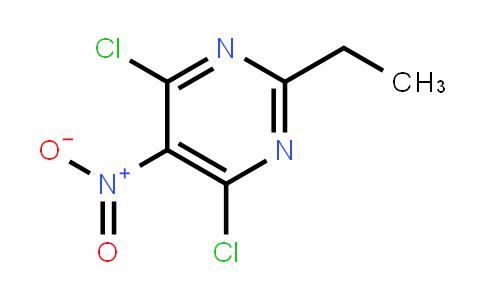 4,6-DICHLORO-2-ETHYL-5-NITROPYRIMIDINE