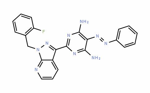 4,6-PyrimiDineDiamine, 2-[1-[(2-fluorophenyl)methyl]-1H-pyrazolo[3,4-b]pyriDin-3-yl]-5-(phenylazo)-