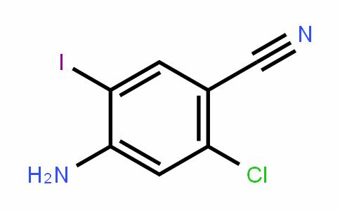 4-aMino-2-chloro-5-ioDobenzonitrile