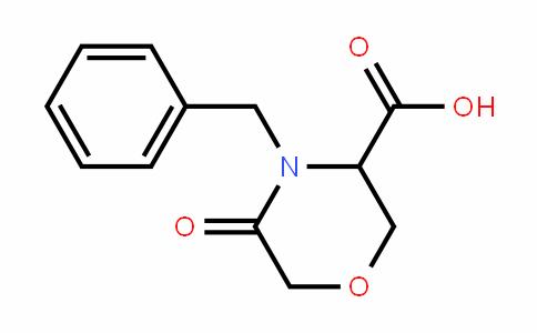 4-benzyl-5-oxomorpholine-3-carboxylic acid