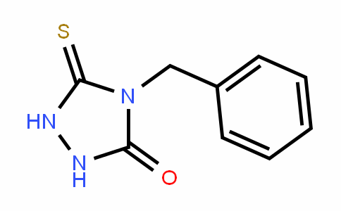 4-BENZYL-5-THIOXO-[1,2,4]TRIAZOLIDIN-3-ONE