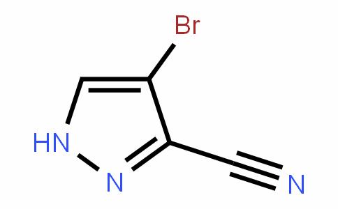 4-broMo-1H-pyrazole-3-carbonitrile