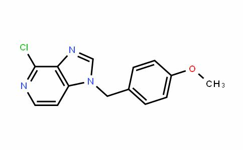 4-chloro-1-(4-methoxybenzyl)-1H-imiDazo[4,5-c]pyriDine