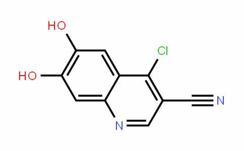 4-chloro-6,7-DihyDroxyquinoline-3-carbonitrile